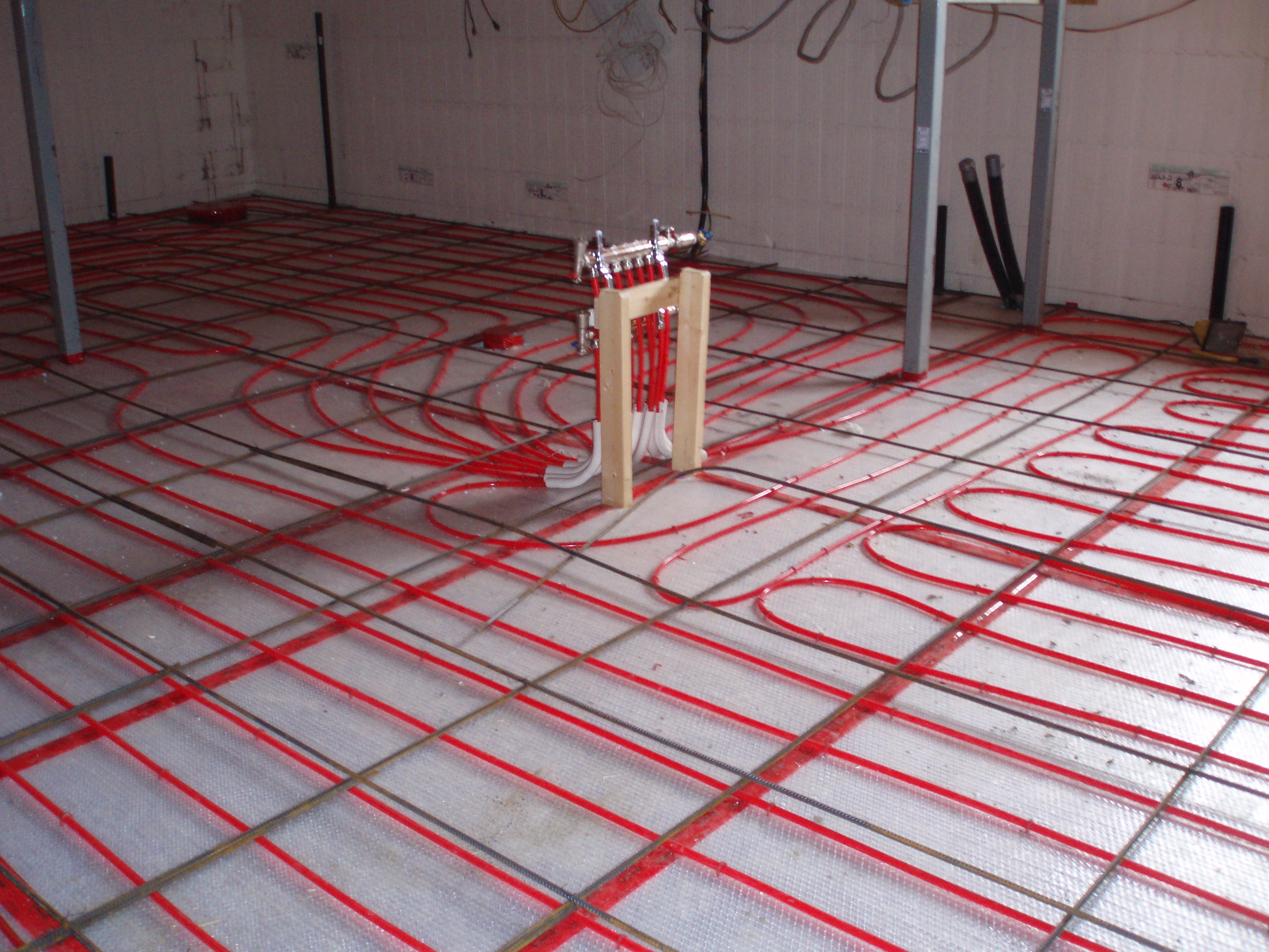 How To Install Radiant Floor Heating Under Tile Video