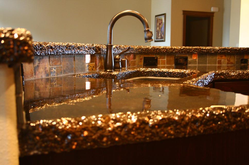 Stain2 super stone inc for Copper countertops cost