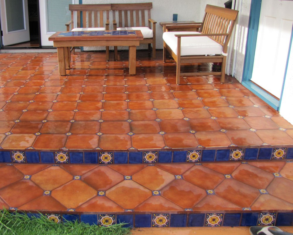 Paver kote 1 mexican tile sealer for natural strones super post categories dailygadgetfo Image collections